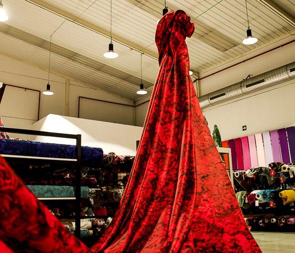 ¿Cuántos metros de tela se necesitan para un vestido de flamenca?